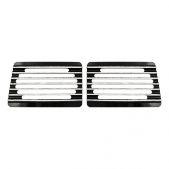 Covingtons Speaker Grills in Finned Diamond Edge; For Cycle Sounds Lids (ARM209359)