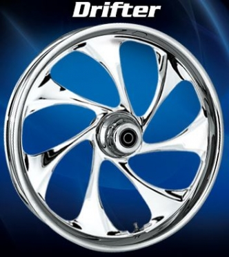 RC Components Drifter Front Wheel In Chrome