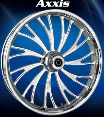 RC Components Axxis Rear Wheel In Chrome