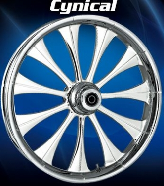 RC Components Cynical Rear Wheel In Chrome