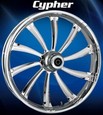 RC Components Cypher Rear Wheel In Chrome