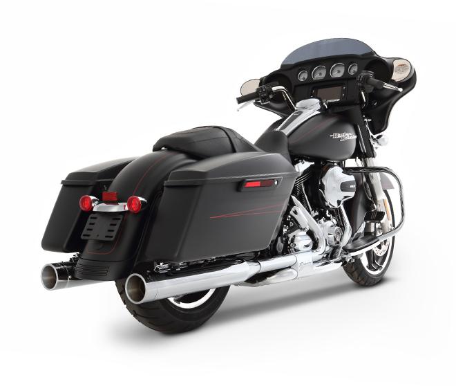 Rinehart Racing Custom Harley Davidson Slip On Exhaust