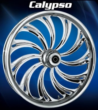 RC Components Calypso Rear Wheel In Chrome
