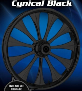 RC Components Cynical Front Wheel In Black