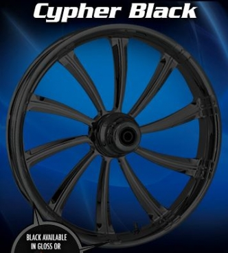 RC Components Cypher Front Wheel In Black