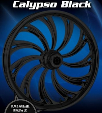 RC Components Calypso Front Wheel In Black