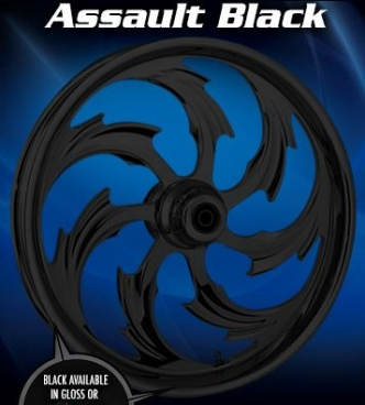RC Components Assault Front Wheel In Black
