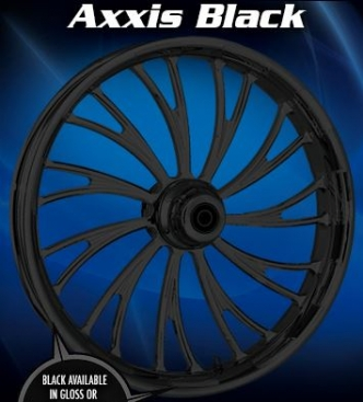 RC Components Axxis Rear Wheel In Black