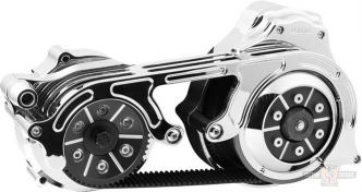 BDL 2 Inch Open Belt Drive With Hydraulic Clutch in Chrome Finish For 2007-2016 Touring With 6-Speed Hydraulic Clutch Models (TC2PBH-2-C)