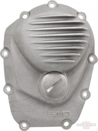 EMD Ribbed Cam Cover in Semi-Polished For 2017-2020 Touring, 2018-2020 Softail Models (CCM8/R/SP)