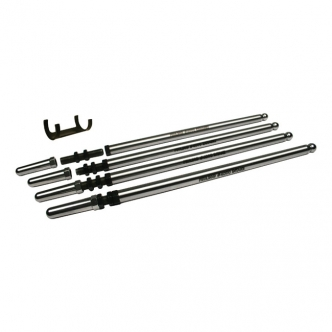 Feuling Fast Install Adjustable Pushrods Chromoly 0.095 Inch Wall Thickness, Installs Without Rocker Box Removal For 1984-1999 B.T. (Excluding Twin Cam) Models (ARM370665)