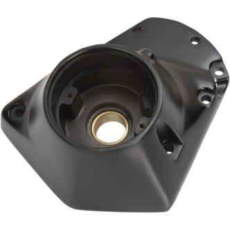 Drag Specialties Cam Covers For 73-92 Evo Big Twin In Black (35-0015SB)