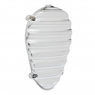 Arlen Ness Finned Cam Cover In Chrome Finish For 2014-2018 Indian Motorcycles (Excludes Scouts) (I-1168)