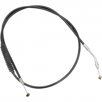 Barnett Traditional Clutch Cable Oversize +6 Inch (152mm) in Black Finish For 2014-2020 Chief/Chieftain Models (101-40-10004-06)