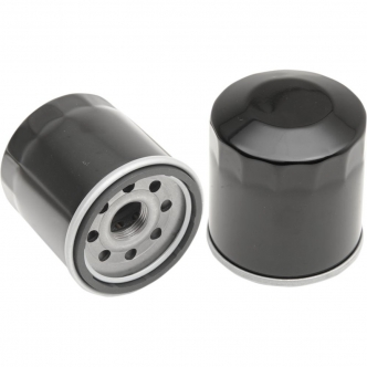 Drag Specialties Oil Filter in Black Finish For 2014-2020 Indian Models (T14-0025)