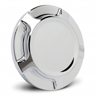 Arlen Ness Beveled Gas Cap In Chrome Finish For 2015-2018 Indian Scout & 2016-Up Victory Octane Motorcycles (P-1390)
