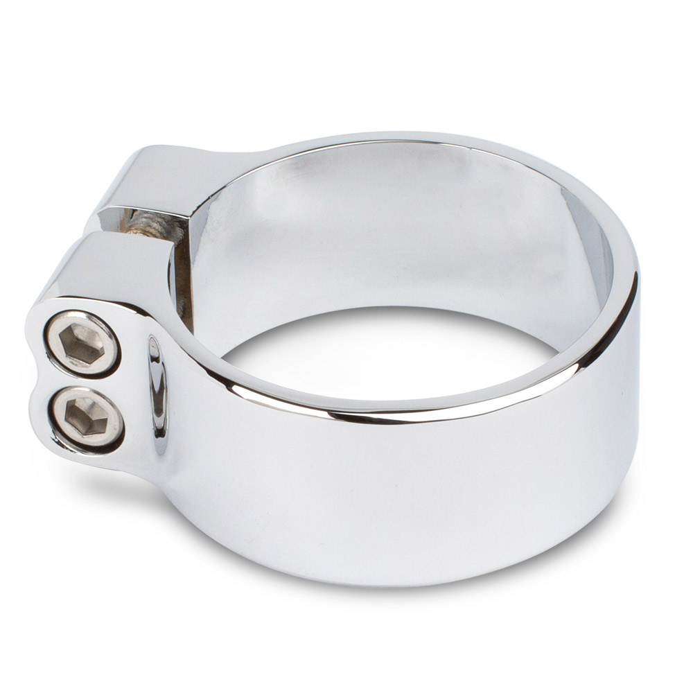 """Cobra Stainless T-Bolt Exhaust Clamp 1.25/"""" 95-2944P"""