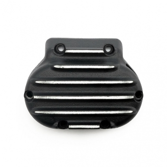 EMD Transmission End Cover in Black Cut Finish For 1987-2006 B.T. (Excluding FXR & 2006 Dyna) Models (ARM062475)