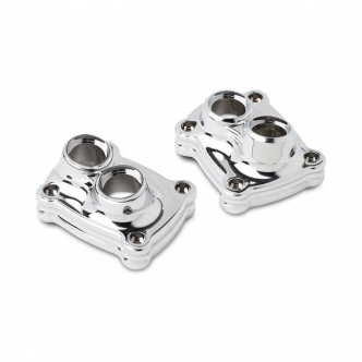 Arlen Ness 10-gauge Tappet Block Cover Kit in Chrome Finish For 2018-2020 Softail, 2017-2020 Touring Models (Sold in Pairs) (12-582)