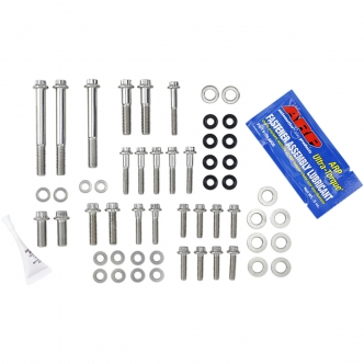 Feuling External Engine Fastener Kit in Stainless Steel For 1985-1999 Evolution Big Twin Models (3069)