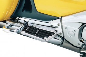 Kuryakyn Transformer Passenger Floorboards For Honda 2001-2017 Gold Wing Motorcycles In Chrome Finish (7006)