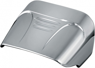 Kuryakyn Taillight Cover Without Slots In Chrome Finish For Harley Davidson 1973-2020 Motorcycles With Conventional Fender Mounted Taillights (9008)