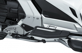 Kuryakyn Omni Passenger Transformer Floorboard In Chrome Finish For Honda 2018-2020 Gold Wing Motorcycles (6760)