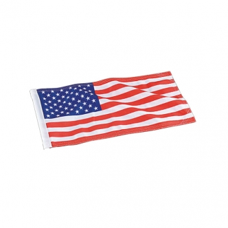 Kuryakyn Replacement American Flag 4 Inches x 9 Inches (4264)