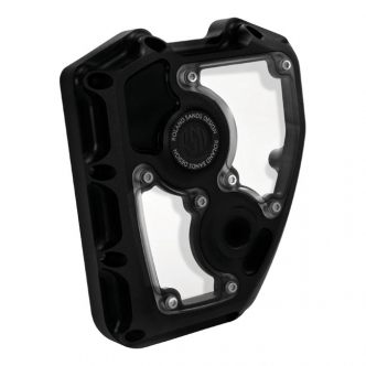 Roland Sands Design Clarity Cam Cover in Black Ops Finish For 2001-2016 Touring Models (0177-2005-SMB)