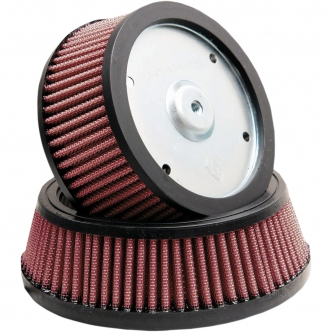 Arlen Ness Replacement Air Filter Big Sucker Stage 1 For 1988-2020 Sportster (excl. Forty Eight, Seventy Two, Iron), 1988-2015 FX. (with OEM oval cover) (18-040)
