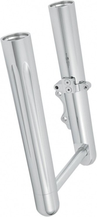 Arlen Ness Hot Legs Deep Cut Dual Disc In Chrome Finish For 2014-2020 Touring Models (40-502)