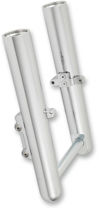 Arlen Ness Hot Legs Smooth Single Disc In Chrome Finish For 2014-2020 Touring Models (40-501)
