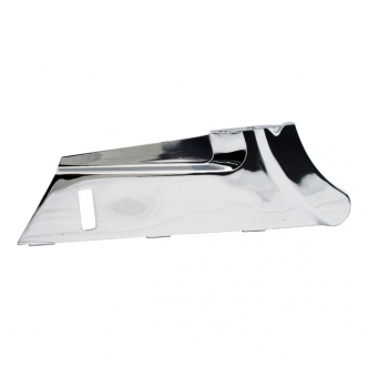 DOSS Lower Belt Guard in Chrome Finish For 70 Teeth Pulley For 1997-2008 Touring Models (ARM759805)