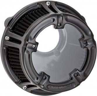 Arlen Ness Method Air Cleaner In Black Finish For Harley Davidson 2008-2016 FLT & 2016-2017 FLST & FXDLS Models (18-966)