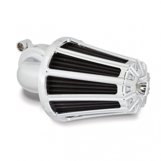 Arlen Ness 10-Gauge Monster Sucker Air Cleaner In Chrome Finish For Harley Davidson 1991-2020 Sportster Models (81-017)