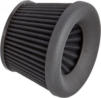 Arlen Ness Replacement Filter Element In Black For Velocity 65 Degree Air Cleaner Kits (81-208)