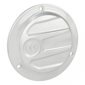 Performance Machine Scallop 3 Hole Derby Cover in Chrome Finish For 1970-1998 B.T. Models (0177-2027-CH)