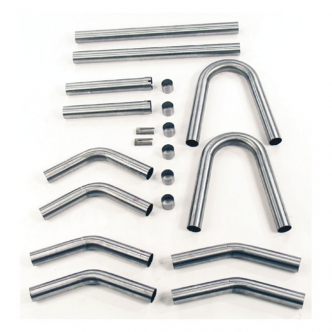 Paughco Build Your Pipe Kit, 1-3/4 Inch Diameter Pipes Mild Steel Tubing For 1984-2020 B.T. & 1986-2020 XL Models (ARM396209)