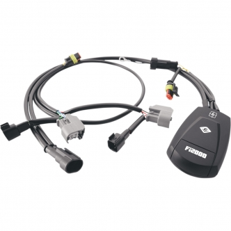 Cobra FI2000R 02 Digital Fuel Processor - Closed Loop For Harley Davidson 2008-2011 Softail FXCW/C Rockers Motorcycles (692-1611CL)