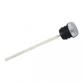 DOSS Knurled Oil Tank Fill Plug With Dipstick in Chrome Finish For 1999-2006 Touring Models (ARM092129)