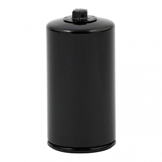 DOSS Spin-On Oil Filter With Magnetic Top Nut in Black Finish For 1991-1998 Dyna Glide Models (ARM935805)
